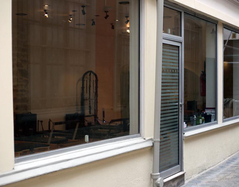 nouveaux locaux cours de pilates paris